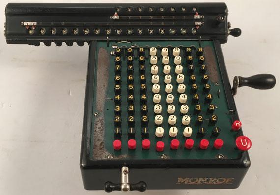 MONROE modelo L, s/n L-142075, año 1930, 30x24x16 cm