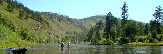 Les rivières du massif du Khentii