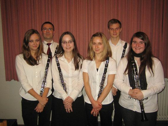 Klarinettenensemble der Spielgemeinschaft Hütschenhausen