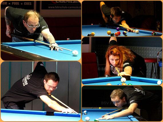Horst Hentschel (C), Patrick Sy, Stefanie Hentschel, Andreas Stiller, Sebastian Thron