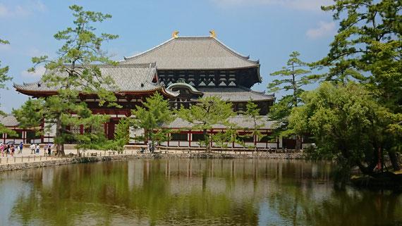 盛夏の奈良東大寺