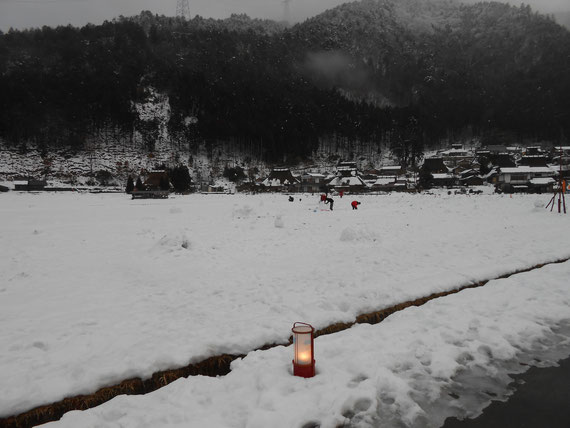 日本の原風景 美山北村地区の雪景色