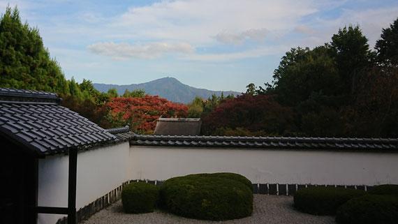 比叡山借景のお寺 都観光タクシー 英語通訳ガイド 永田信明