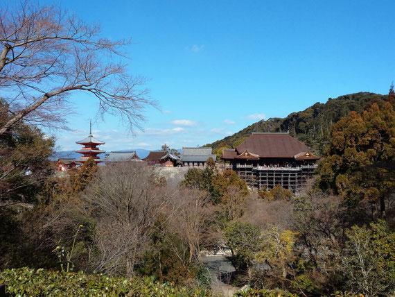 音羽山 清水寺の修復