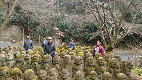 Adashino Nembutsu-ji Temple, Statues of the 1200 Rakans