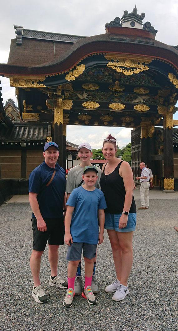 Nijo Castle Tang Gate