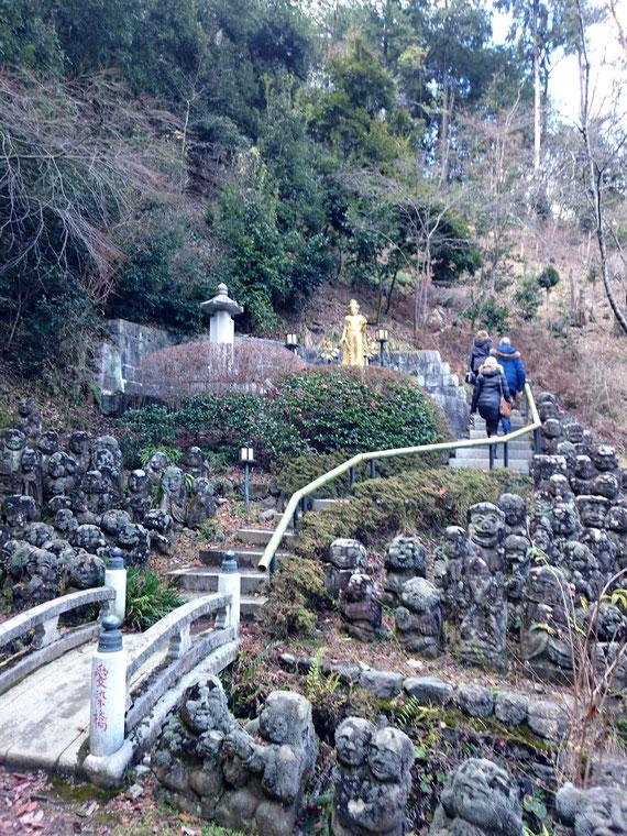 愛宕念仏寺の羅漢さま
