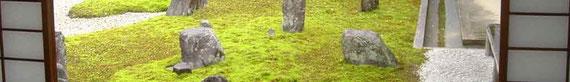 京都観光タクシーツアーで静寂なお庭をお楽しみください。