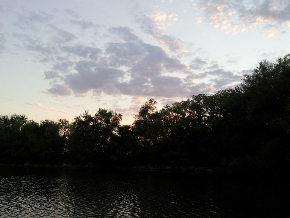 Das Bild entstand bei Papa's See