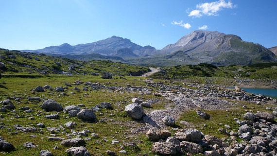 Naturpark Fanes-Sennes-Prags, Ampezzaner Dolomiten. Foto: Manuel Werner