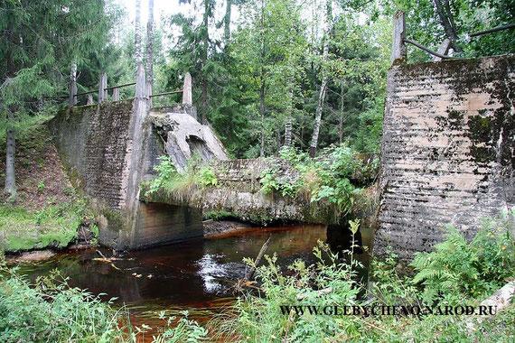 Плотина затопления на р. Перовка /Perojoki/