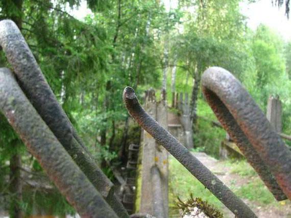 Арматура усиления ферм моста