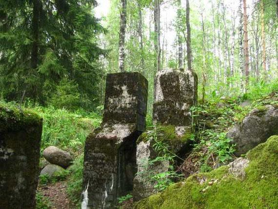 Вентилляционные сооружения финских подземных оборонительных сооружений