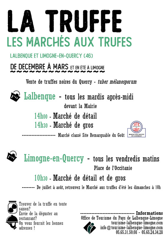 marché aus truffes dans le Lot en Quercy proche Lalbenque Saint cirq lapopie,  Cahors location vacances gites