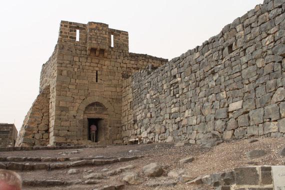 In diesem Torhaus der Festung Azrak wohnte Lawrence zeitweise.