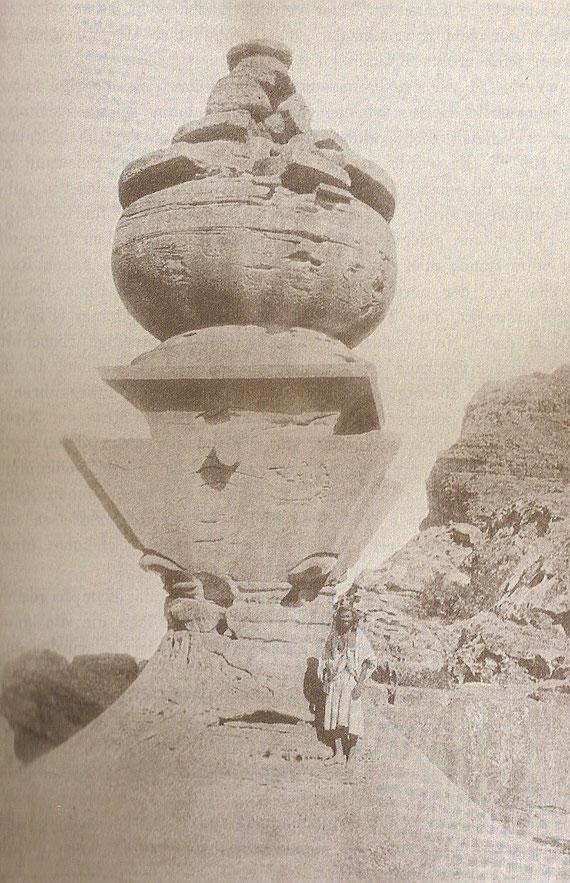 Das Urnengrab.