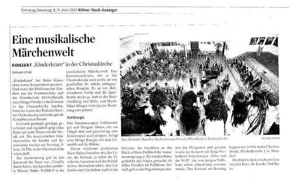 Eine musikalische Märchenwelt - Kölner Stadt-Anzeiger
