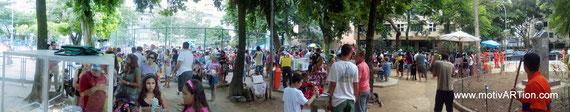 Kinderkarneval im Bairro do Peixoto