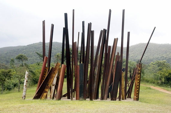Beam Drop (2008), Chris Burden