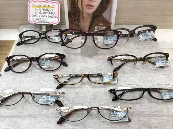 Vivienne Westwoodのフレームならメガネのホズミアリオ店へ