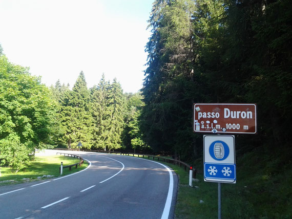 passo Duron  1000m