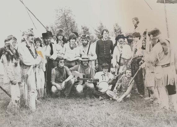 Bandfoto Pfingsten 1981