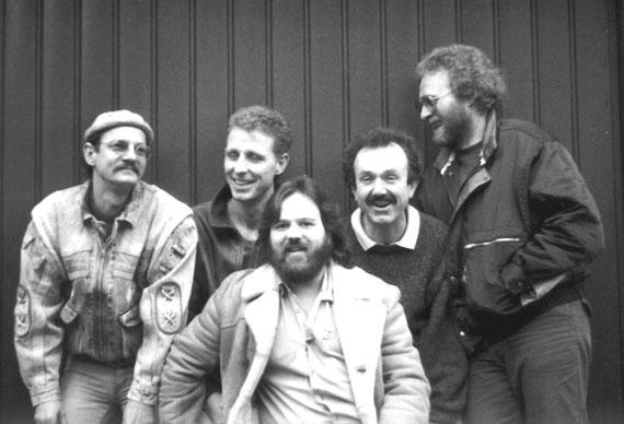 v.l.n.r.: Pitty Goy (g), Dieter Einert (voc), Friedel Pfaff (b), Peter Seidel (dr), Jürgen Seuring (g)