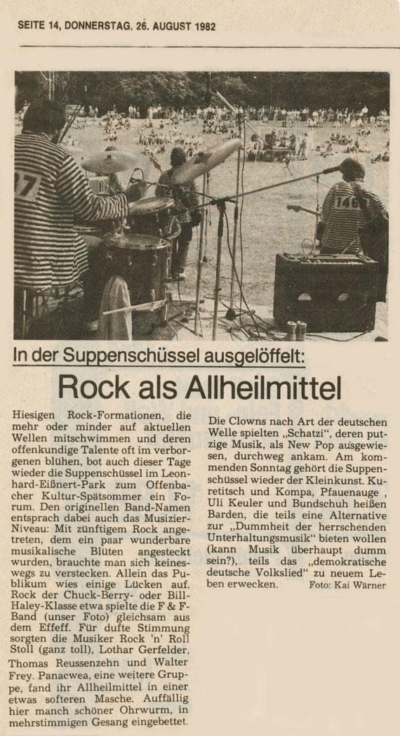 """Artikel der """"Offenbach Post"""""""