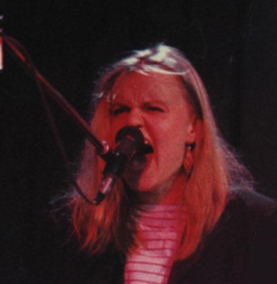 Sängerin Annette Marquard