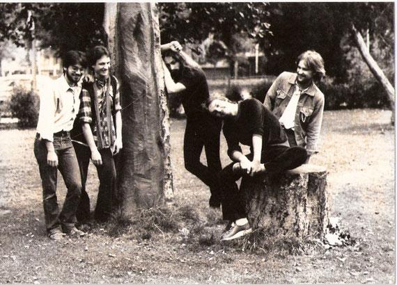 vlnr: Robert Heeß, Peter Maith, Reiner Wolff, Horst Olbrisch, Thomas Hegner