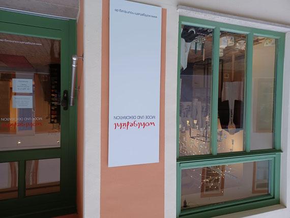 Schauffenster Wohlgefühl Naumburg Steinweg Bekleidung Schmuck Seife