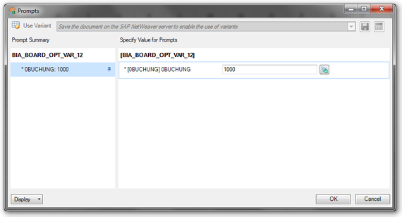 Analysis Office Variants needs SAP NetWeaver