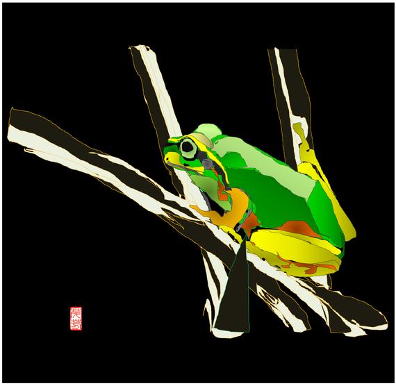 雨蛙 リメイク 2020/11/23制作