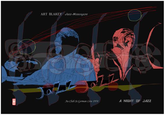 ART BLAKEY 1作目 2021/06/14