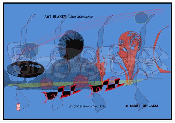 ART BLAKEY 3作目 2021/06/15制作