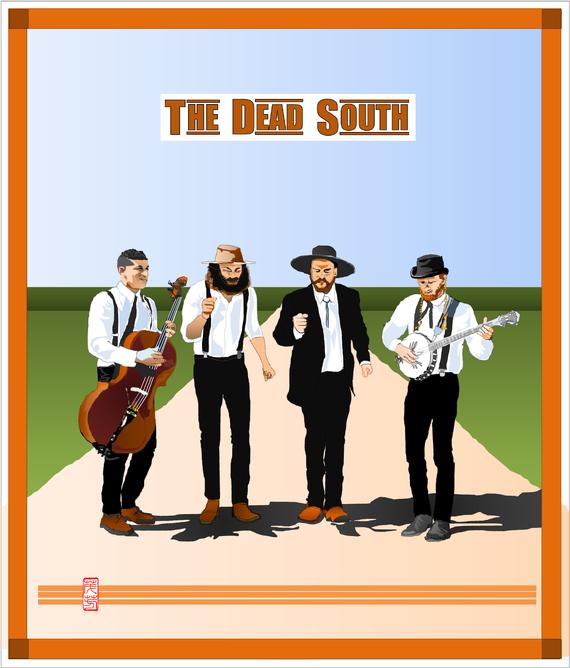 ポスター画・表紙画 the dead south