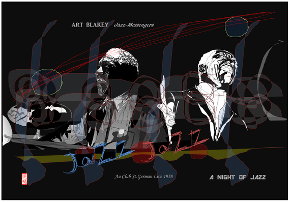 ART BLAKEY 4作目 2021/06/18制作