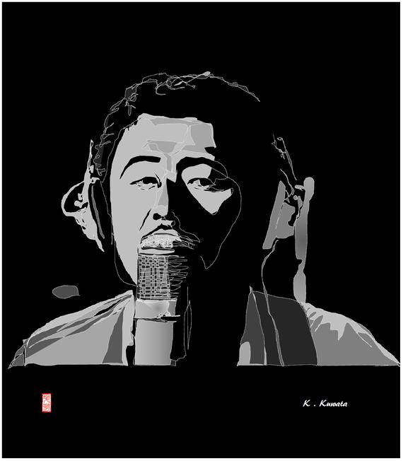 桑田佳祐 モノクロ 2021/03/14制作