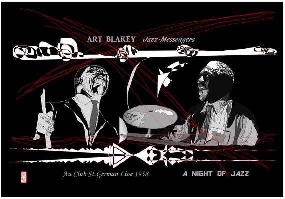 ART BLAKEY 2作目 2021/06/17制作