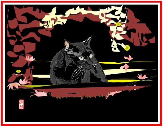日本の黒猫・京都 リメイク 2021/4/20制作