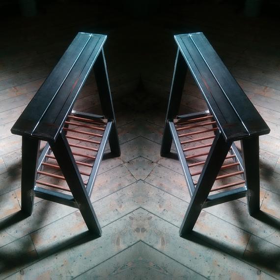 Mobili in ferro milano, Design in ferro Milano, Strutture in ferro milano, Prototipi per designer,arredamento in ferro milano,cavalletti in ferro,base per scrivania