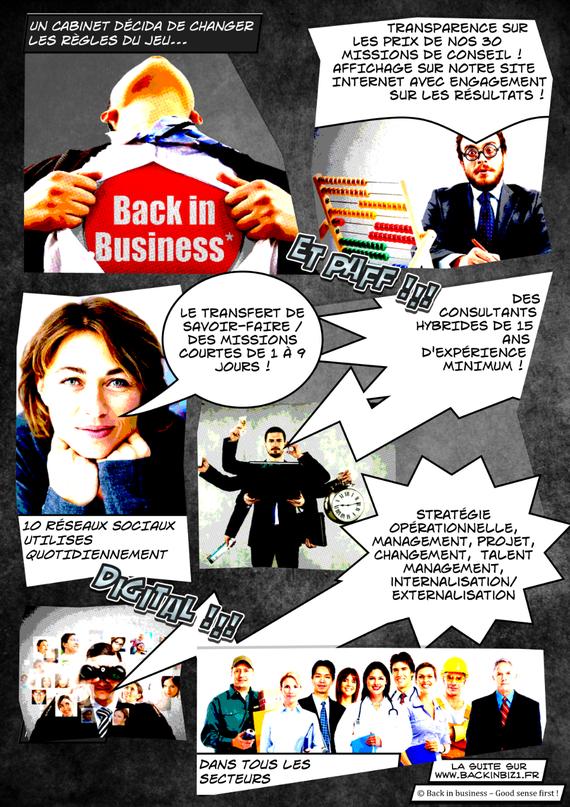 Cabinet conseil en stratégie, management, projet, changement,  et talent management 2/2