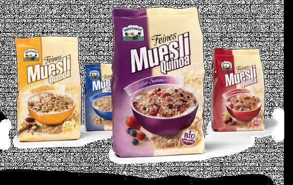 Barnhiuse - Feines Müsli- Quinoa - Müsli - Frühstück - Packaging - Design - DesignKis - 2011 - Verpackung