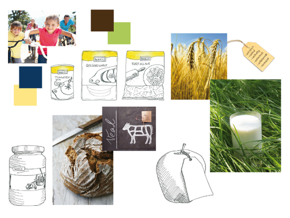 BASIC - Bio - Genuss für alle - Scribble - Konzept - Corporate - Design - DesignKis - Verpackung