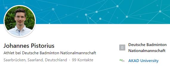 Linked In - Johannes Pistorius