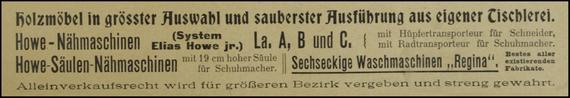1907 Advertisement
