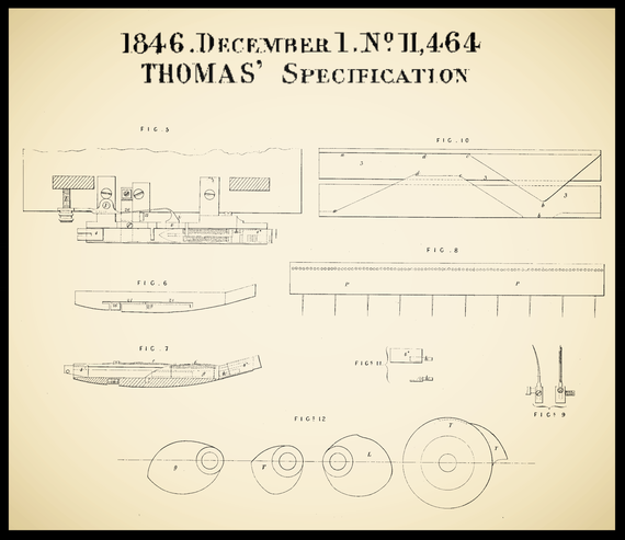 GB 11.464/1846        William Thomas  (December 1, 1846) Fig. 5 to Fig. 12