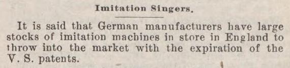 Sewing Machine Times (July 1990)