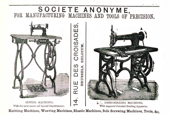 1877  (from The Sewing Machine Gazette)