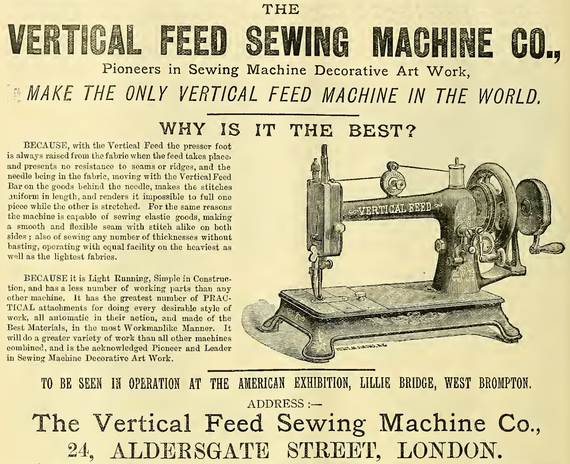 February 1887  ( from Sewing Machine Gazette )